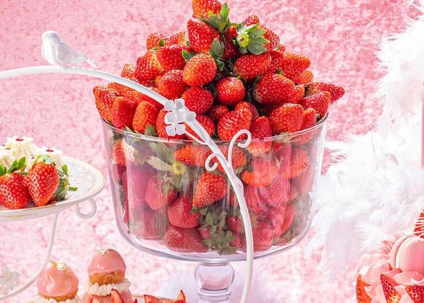 いちご好きは注目~! 都内ホテルで開催中の苺スイーツビュッフェがどれも美味しそう!
