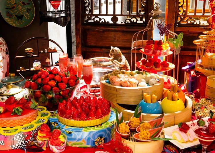 5つのレストラン&バーで「いちごフェア」を開催中【ヒルトン東京】