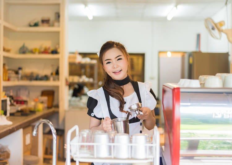 7. Maid Cafes