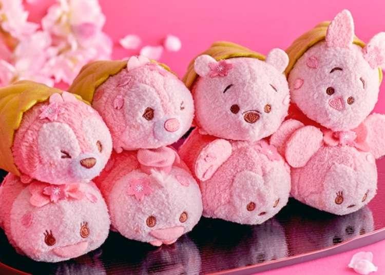 Inedible but squeezable: Disney announces Tsum Tsum sakura mochi line