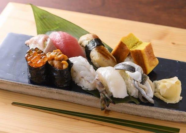 2nd: Sushi    13 votes