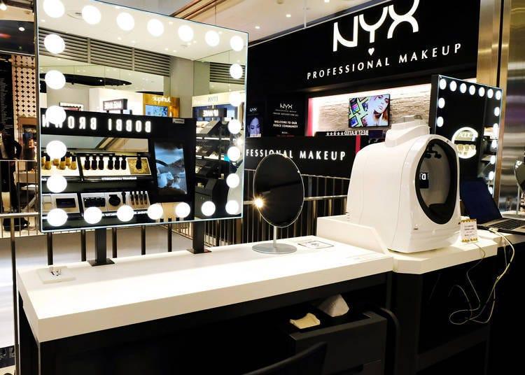 在@cosme TOKYO用最新的美容儀器來測試一下自己的肌膚狀況吧