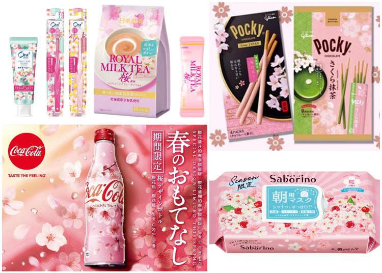 跟著日本一起提早迎接春天吧!春季商品粉嫩開賣,快來補充櫻花盛開般的活力~