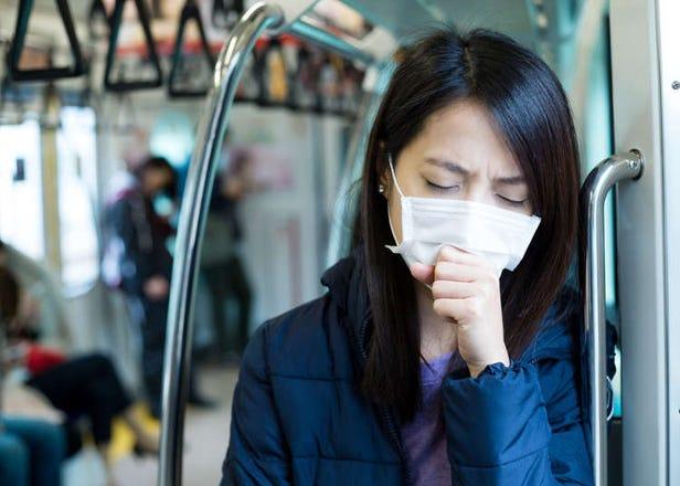 冬末初春出遊日本時,需要注意這幾件事!新型肺炎、流感、花粉症