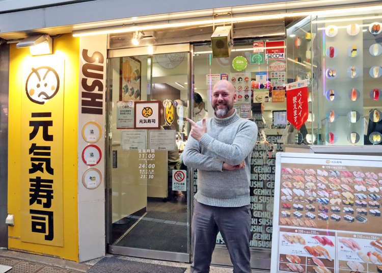 We Visit Genki Sushi In Shibuya To Reveal The Quirky Menu Items Foreigners Love!