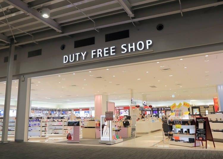 「duty-free」と「Tax Free」を勘違いしないで