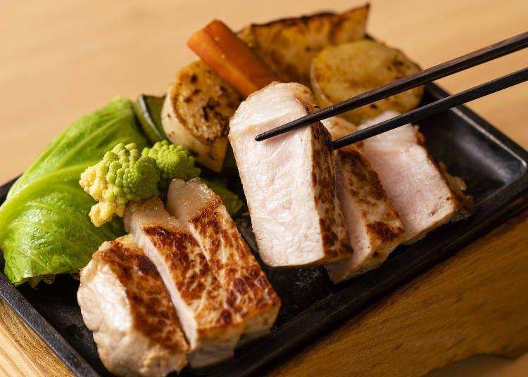おいしい豚肉が食べられるフェア開催!