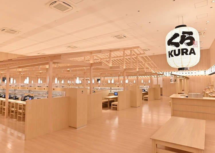 """Kura Sushi Asakusa ROX Store"": Kura Sushi's first global flagship"