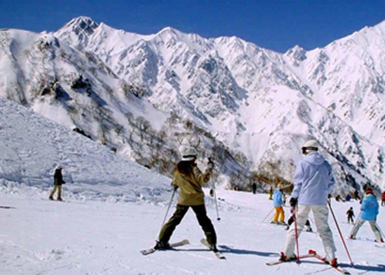 2. Hakuba Goryu Snow Resort