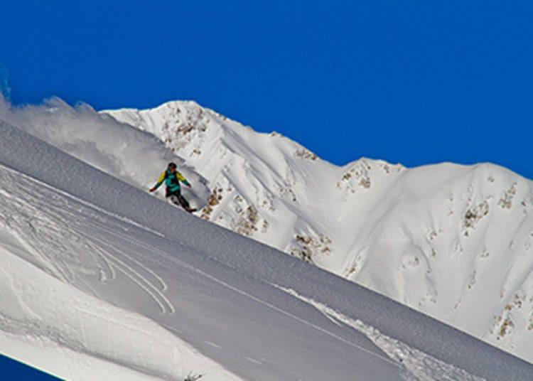 推荐给滑雪高手们的滑雪场①「白马八方尾根滑雪场」