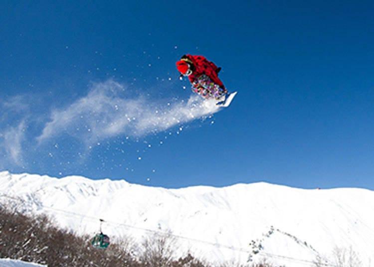 HAKUBA VALLEY滑雪場⑦Hakuba47冬季運動公園(適合高手)