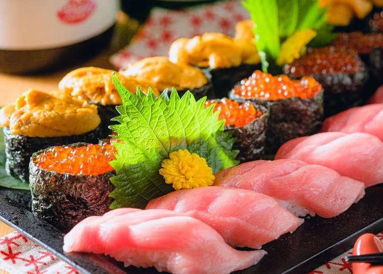 腹ペコさん必見! 寿司50種やラム肉、すき焼きの食べ放題がお得な3店