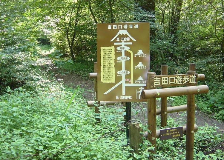 富士山「吉田路線」的相關解說