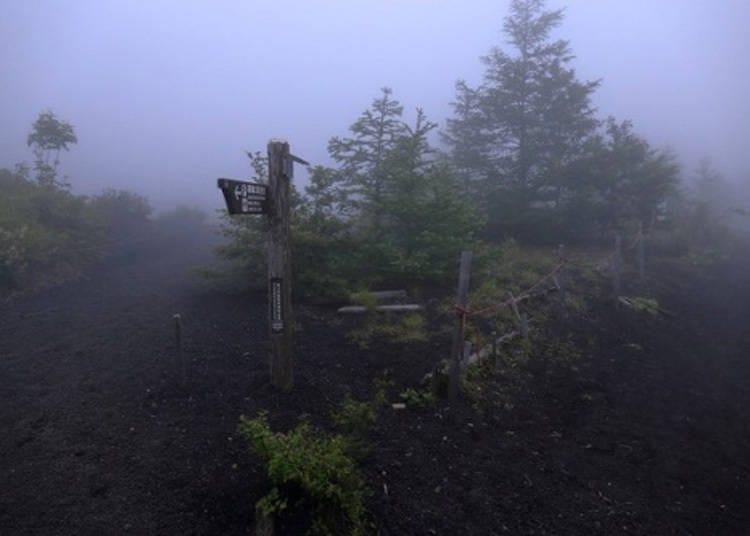富士山「須走路線」解說