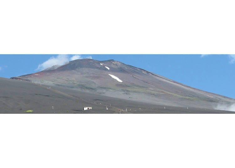 富士山「御殿場路線」的特色