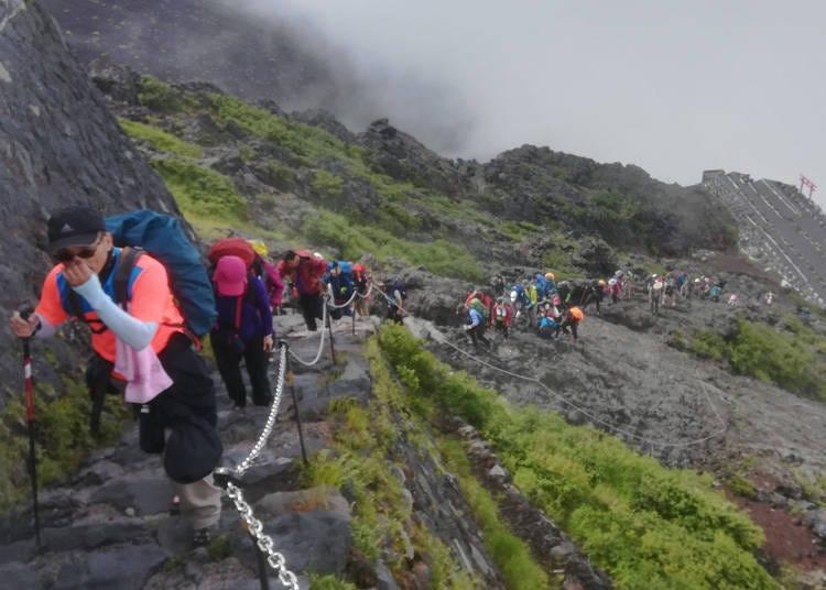 富士山登山會很耗體力嗎?