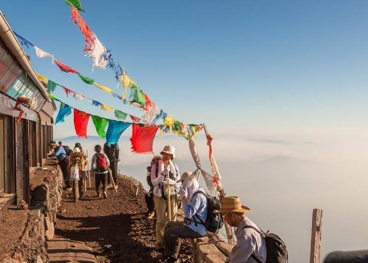 富士山登山注意事项⑤上厕所需要收费