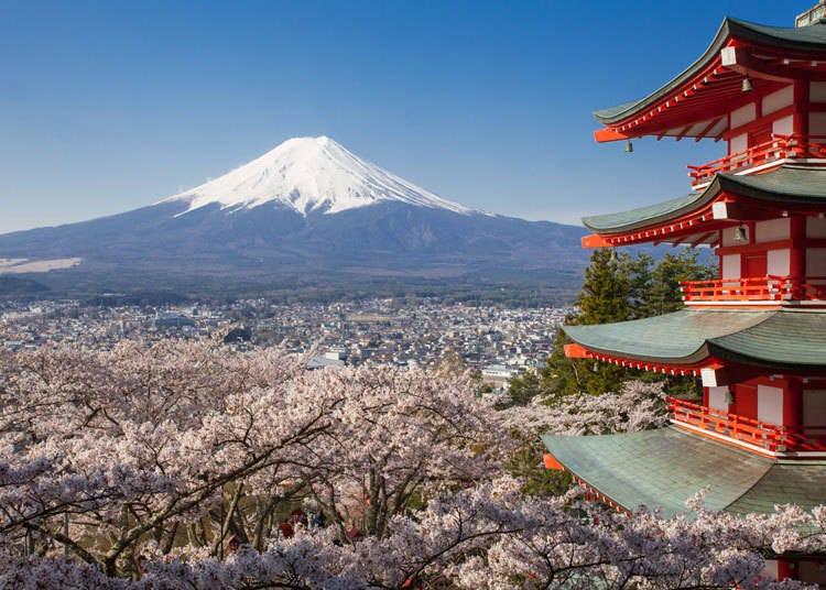去过富士山的外国游客,推荐这些富士山周边景点!