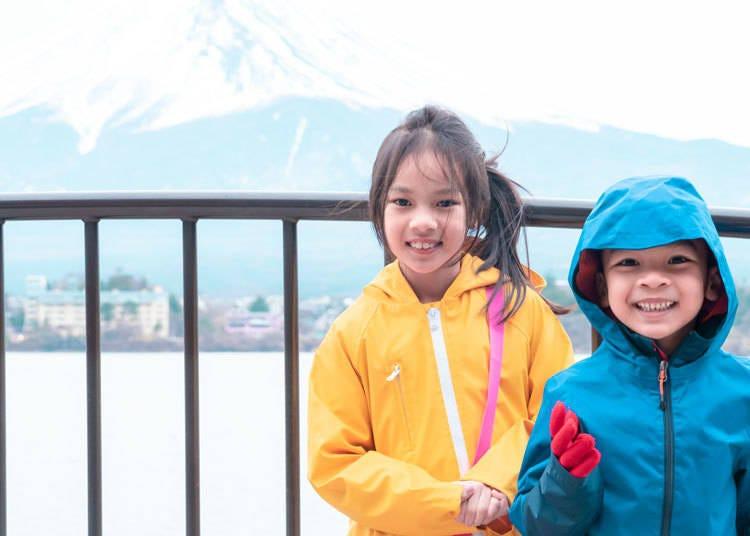 带小孩的游客推荐的富士山周边亲子游景点