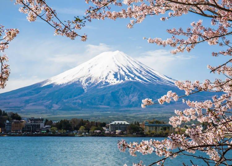 1. 富士山以前又被写作「不二山」、「不死山」、「不尽山」