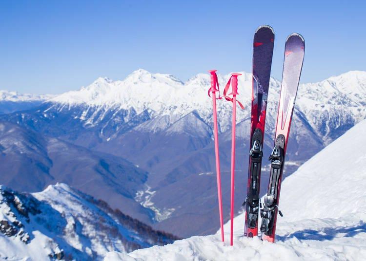 6. 富士是日本第一个有人滑雪的地方