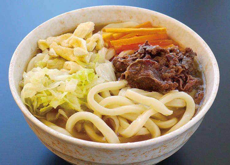 1. 富士吉田を代表する名物郷土料理「吉田のうどん」