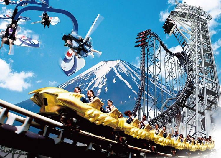 5. 日本を代表する絶叫マシンでおなじみの「富士急ハイランド」