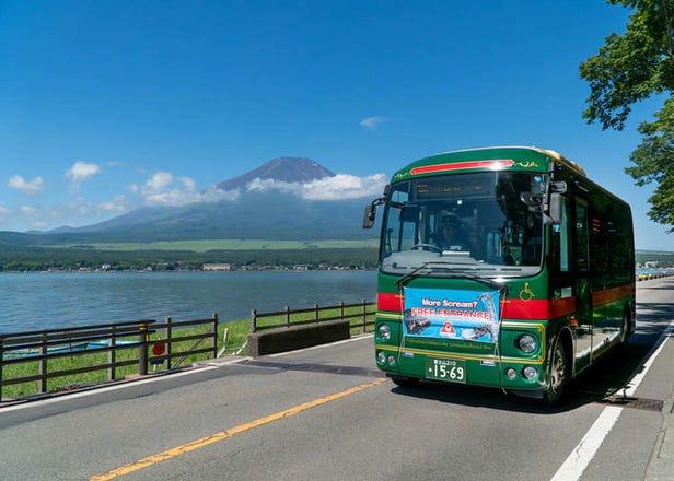 搭巴士玩富士山!「富士五湖護照」無限搭乘超划算