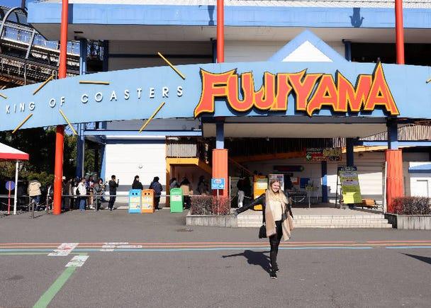 4つの世界記録を持つコースター「FUJIIYAMA」
