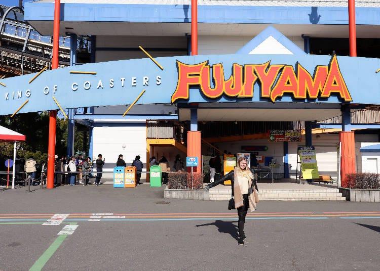 ①擁有4項世界紀錄的富士急樂園遊樂設施-「FUJIIYAMA」