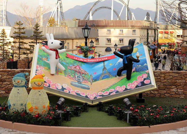 四處都好拍!富士急樂園裡滿滿歐洲風情的「麗莎與卡斯柏小鎮」