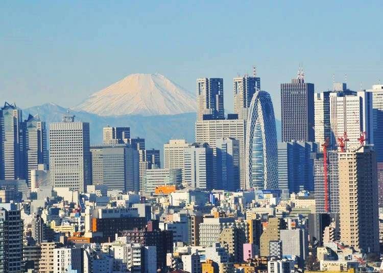 遠くても美しい!東京から富士山が見える撮影スポット10選