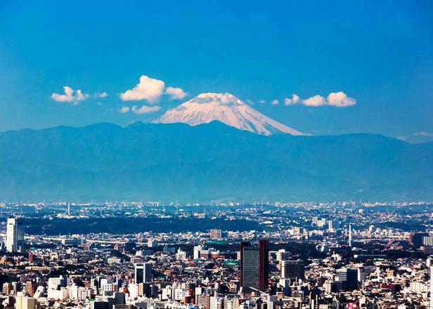 10个从东京也能看见富士山的拍照景点!摄影爱好者必收