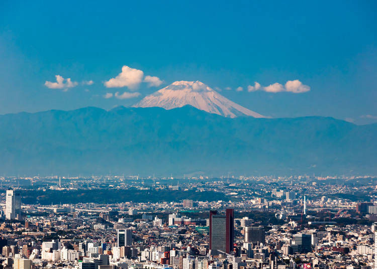 5. Roppongi Hills Observatory Tokyo City View: Great place to see Mount Fuji, and the stars