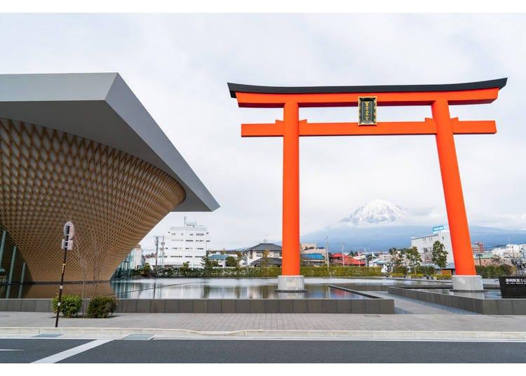 「静冈县富士山世界遗产中心」简介&交通方式
