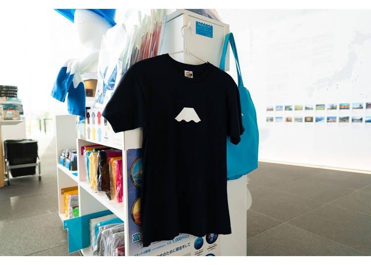 4. Mt. Fuji's Peak T-Shirt: Wearing Mt. Fuji's summit