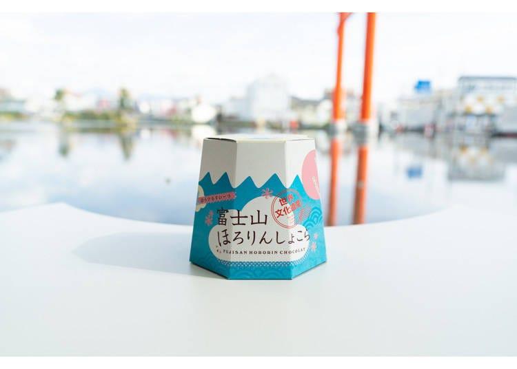 富士山伴手禮2. 可愛外觀超人氣的「富士山巧克力餅乾」