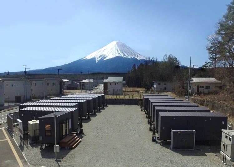 한 동을 전부 빌릴 수 있는 트레일러 하우스 'Tourist Villa Kawaguchiko'