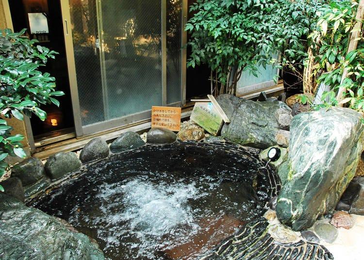 「深大寺天然温泉 湯守の里」で疲労回復!