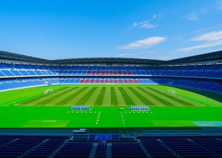 日本サッカー界の代表的なスタジアム「横浜国際総合競技場」