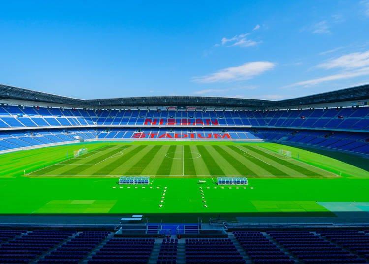 일본 축구계의 대표적인 스타디움 '요코하마 국제 종합경기장'