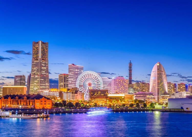 擁有兩大運動場館的港灣都市-橫濱