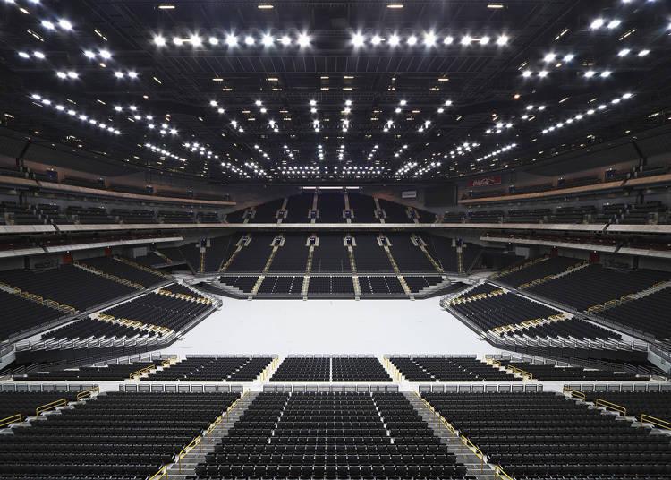 Saitama Super Arena, a multipurpose facility