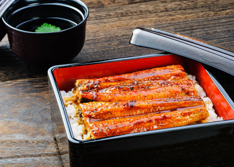 3. Masuya: Don't miss the eel dishes, specialty of Urawa!