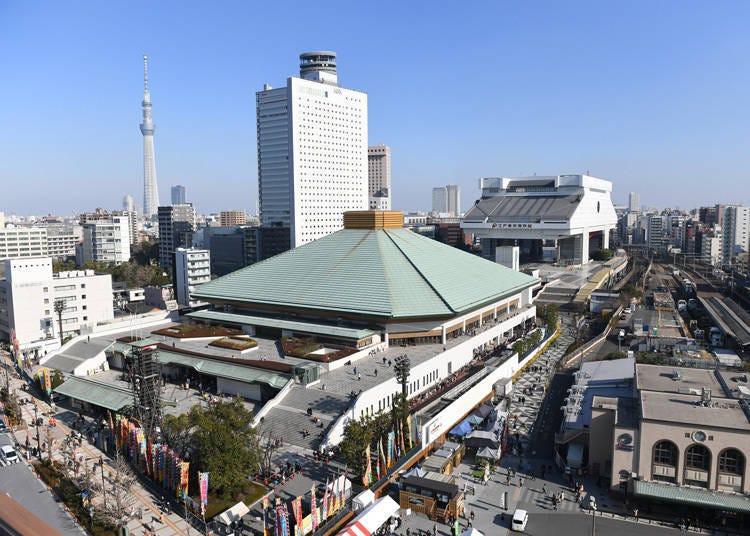 東京・江戶的兩國國技館