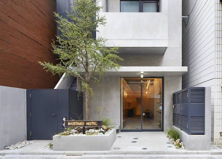 兩國國技館周邊推薦景點④有溫泉、三溫暖的東京住宿點「MUSTARD HOTEL ASAKUSA1」