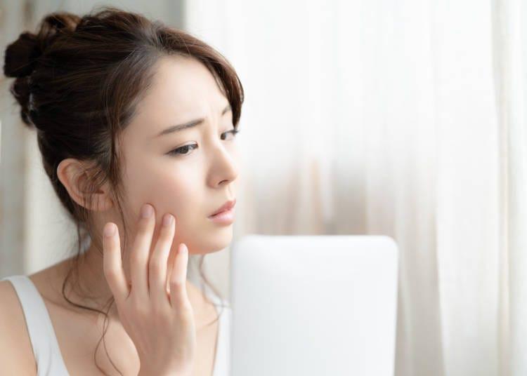 保養品日文單字-皮膚狀況相關