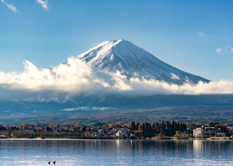 4. Scott from California recommends Lake Kawaguchi with Mt. Fuji View