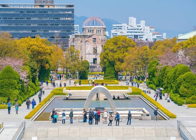 6. Jennifer from Boston recommends Hiroshima Peace Memorial Park & Miyajima