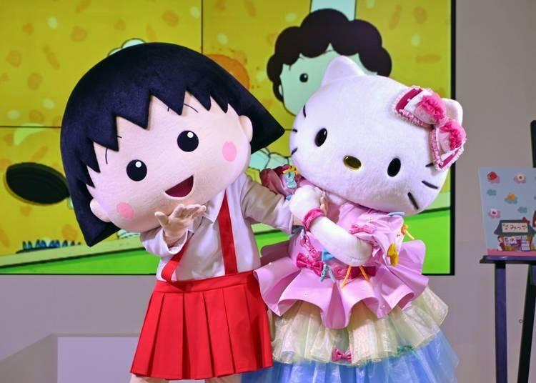 國民卡通人物、人氣偶像等大咖雲集的聯名活動展開~  1. 紀念動畫化30周年!櫻桃小丸子與Hello Kitty的聯名企劃